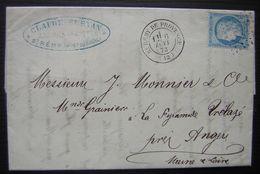 1873 Saint Rémy De Provence Bouches Du Rhône Claude Servan Jardinier - 1849-1876: Période Classique