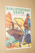 Hachette,RARE Original Catalogue 1957-1958,Bibliothéque Verte,superbe état,complet - Hachette Point Rouge