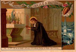 1 Chromos Chocolat - Aiguebelle - Vie De Jesus - Scene Biblique - Bill-744- R/V - Aiguebelle