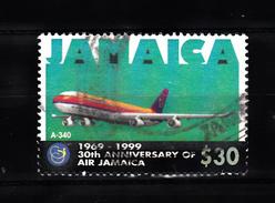 Jamaica 1999 Mi Nr 931 Airbus A-340 - Jamaique (1962-...)