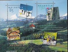 2005 Schweiz Mi. Bl. 39 FD-used   100 Jahre Naturfreunde Schweiz - Blocks & Kleinbögen