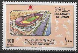 1986 OMAN 281** Stade, Complexe Sportif - Omán