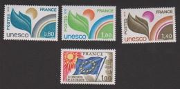 N° 49-50-51-52 **  Conseil De L'Europe Et U.N.E.S.C.O.  YT 6,50 € - Neufs