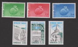 N° 85-86-87-88-89-90 **  Conseil De L'Europe Et U.N.E.S.C.O.  YT 8,10 € - Neufs
