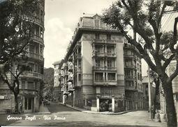 Genova Pegli (Liguria) Via Pavia, Rue Pavia, Pavia Street, Pavia Strasse - Genova (Genoa)