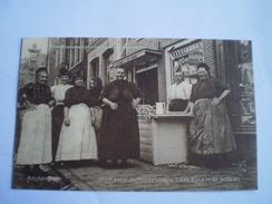 Amsterdam // Straatleven // Kaatje De Mosselvrouw  Kijkje In De Jordaan Gel. 1911 Uitg. Berg Co // Zeldzaam - Top Kaart - Amsterdam