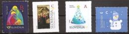 2017 Mint MNH **: 4 Stamps From The SHEET Celebrations Religion Christmas Noel Navidad Weihnacht; New Year 2018 Neu Jahr - Christendom