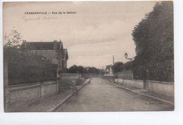 FRANCONVILLE (95) - RUE DE LA STATION - Franconville