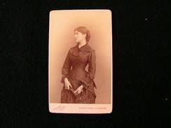 Cpa Ancienne Photo Cdv Madame Albert De Malherbe Officier Prof Chirurgie Anatomie Histologie Nadar - Photos
