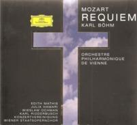 "CD    Mozart  ""  Requiem  ""  Par  Karl  Böhm   -  De  2000   Avec  12  Titres - Klassik"