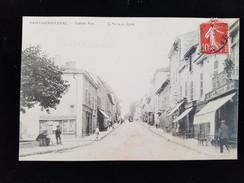 CPA D69 St Genis Laval Grande Rue - Francia