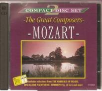 "CD    Mozart  "" The  Great  Composers  ""  2  CD   Avec  12  Titres - Klassik"
