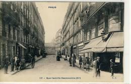 Paris- Rue Camille Desmoulins,- C.P. No 139 - Distretto: 11
