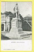 * Antwerpen - Anvers - Antwerp * (G. Hermans, Nr 100) Statue Van Dyck, Standbeeld, Memorial, Rare, Old, CPA - Antwerpen