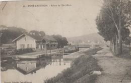 Pont-à-Mousson - Ecluse De L'Ile D'Esch - 1915 - Cachet - Pont A Mousson