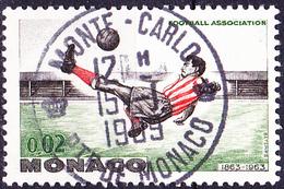 Monaco - AS Monaco Französischer Fußballmeister (MiNr: 745) 1963 - Gest Used Obl - Used Stamps