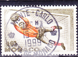 Monaco - AS Monaco Französischer Fußballmeister (MiNr: 746) 1963 - Gest Used Obl - Used Stamps
