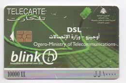 Blink 2007 Used Phonecard  Lebanon , Liban Telecarte  Libano - Lebanon