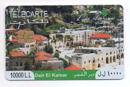Deir El Kamar 2009 Used Phonecard  Lebanon , Liban Telecarte  Libanon - Liban