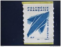 POLYNESIE   P 704 A * *   Timbre   Issu Du Carnet  Rare Millesime 2003 - Ongebruikt
