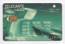Telecarte 30000LL 2005 Used Phonecard  Lebanon , Liban  Libanon - Lebanon