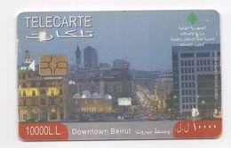 Downtown Beirut  2009 Used Phonecard  Lebanon , Liban  Libanon - Lebanon