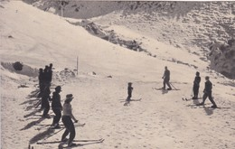 CANCHAS DE ESQUI DE POTRERILLOS, MENDOZA. CIRCA 1940S. ARGENTINE - BLEUP - Argentina