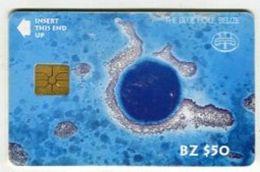 TK 28700 BELIZE - Chip BZ $50 The Blue Hole - Belize