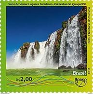 BRAZIL 2017 - TOURIST  ATTRACTIONS  -  FOZ DO IGUAÇU -  IGUASSU FALLS -  UPAEP  - Mint - Brazil
