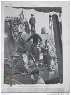 1905 Pesage De La Morue A Granville Peche Morues Morutier - Granville
