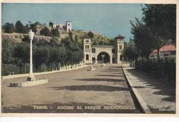 ACCESO AL PARQUE DE LA INDEPENDENCIA, TANDIL. CIRCA 1950S. ARGENTINE - BLEUP - Argentina