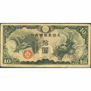 TWN - CHINA M19a - 10 Yen 1940 Block 7 - 472484 F+ - China