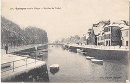 29. QUIMPER Sous La Neige. Rivière De L'Odet. 705 - Quimper