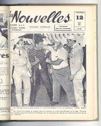 Livre Relié Les Nouvelles, Distillerie Ricard, Sainte-Marthe, Marseille 1959 - Camargue, Pétanque, Manades, Marseille .. - Livres, BD, Revues