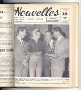 Livre Relié Les Nouvelles, Distillerie Ricard, Sainte-Marthe, Marseille 1958 - Camargue, Pétanque, Manades, Marseille .. - Livres, BD, Revues
