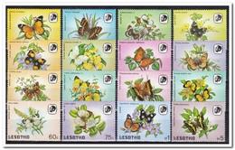 Lesotho 1984, Postfris MNH, Flowers, Butterflies - Lesotho (1966-...)