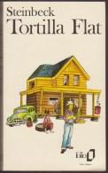 JOHN STEINBECK / TORTILLA FLAT / FOLIO 1979 ROMAN LITTERATURE ETATS UNIS AMERIQUE / DONSPF 15 - Livres, BD, Revues