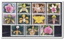 Laos 2003, Postfris MNH, Flowers, Orchids - Laos