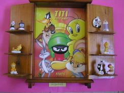 Coffret Collector Série Complète De 9 Fèves - TITI ET SES AMIS ( Feve ) - Cartoons