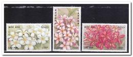 Laos 2001, Postfris MNH, Flowers - Laos