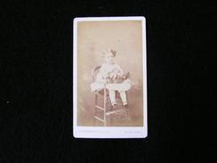 Cpa Ancienne Photo Cdv Marguerite  De Raynal 1872 - Photos