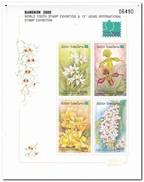 Laos 2000, Postfris MNH, Flowers, Orchids - Laos