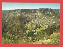 """C.P.M. ( 30 )  """" Les Cévennes Touristiques  """" LE CIRQUE DE NAVACELLES Vu Du Coté Gard (causse De Blandas) Voir 2 Photos - France"""