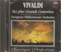 """CD    Vivaldi  """"  Ses  Plus  Grands  Concertos   Par  European  Philarmonic  Orchestra    Avec  15  Titres  """" - Klassik"""