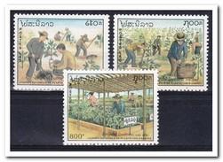 Laos 1991, Postfris MNH, Agriculture - Laos