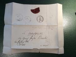 FELLIN (Viljandi Estonia) 1872 Cover > Saara (Russland Estland Brief Lettre Estonie Russie Russia - Briefe U. Dokumente
