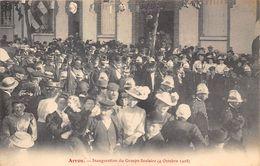 28-ARROU- INAUGURATION DU GROUPE SCOLAIRE ( 4 OCTOBRE 1908 ) - France