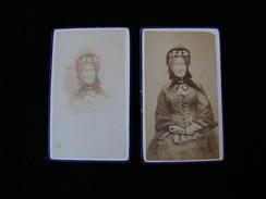 Cpa Ancienne Photo Cdv  Zephine Josephine Daubrée - Photos
