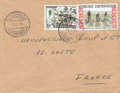 RCA CAR Centrafrique 1975 Bogaranga Tree Garcinia Fruit Anciens Combattants Agriculture Cover - Centraal-Afrikaanse Republiek