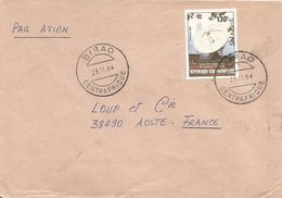 RCA CAR Centrafrique 1984 Birao Satellitte Ground Station Space Cover - Centraal-Afrikaanse Republiek